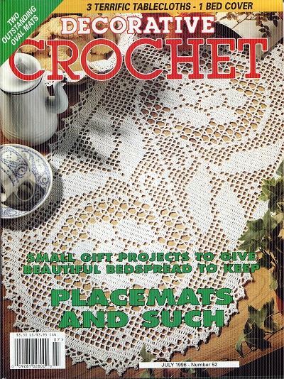 Image for Decorative Crochet No.52  July 1996