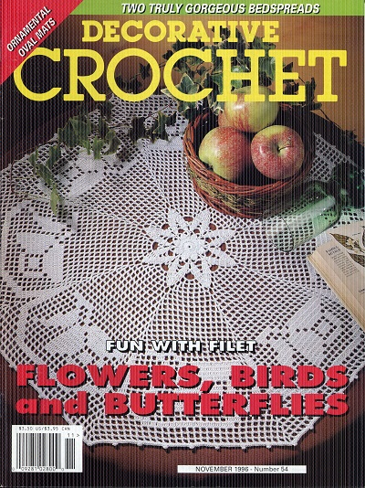 Image for Decorative Crochet No. 54  November1996