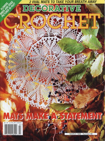 Image for Decorative Crochet No. 68 March 1999