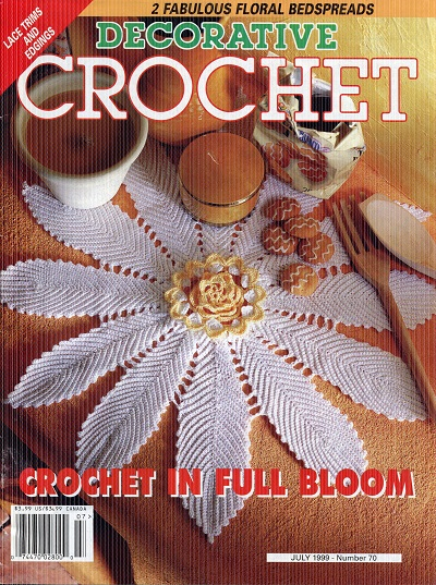Image for Decorative Crochet No. 70  July 1999