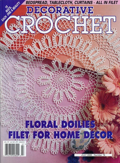 Image for Decorative Crochet No. 76  July 2000