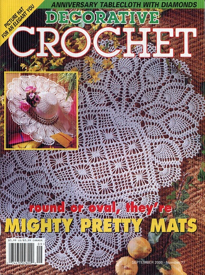Image for Decorative Crochet No. 77  Sept. 2000
