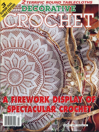 Image for Decorative Crochet No. 80  March 2001