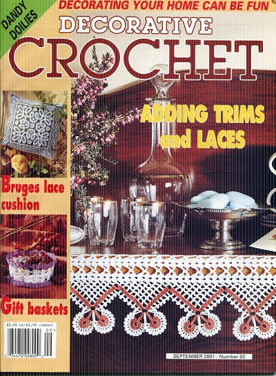 Image for Decorative Crochet No. 83  September 2001