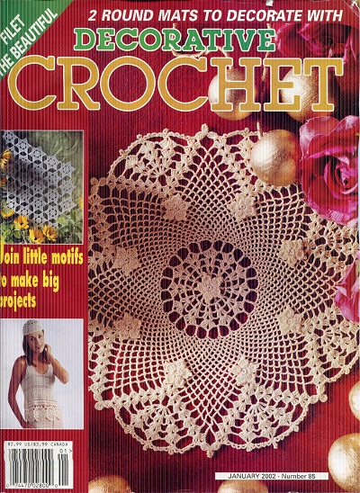 Image for Decorative Crochet No. 85  January 2002