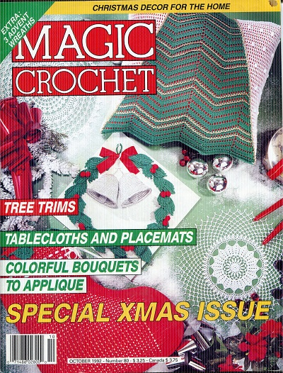 Image for Magic Crochet No. 80  October 1992