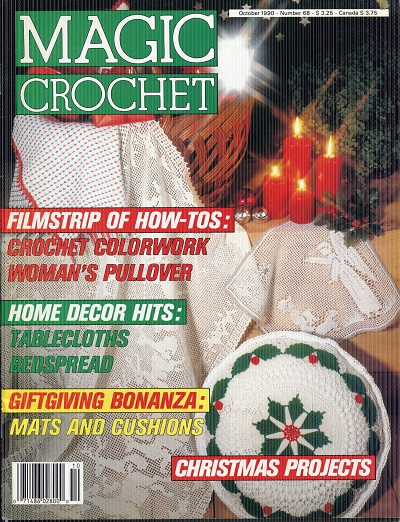 Image for Magic Crochet No.68  October 1990