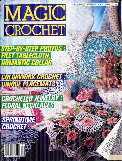 Image for Magic Crochet No. 64  February 1990