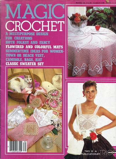 Image for Magic Crochet No.30  April 1984
