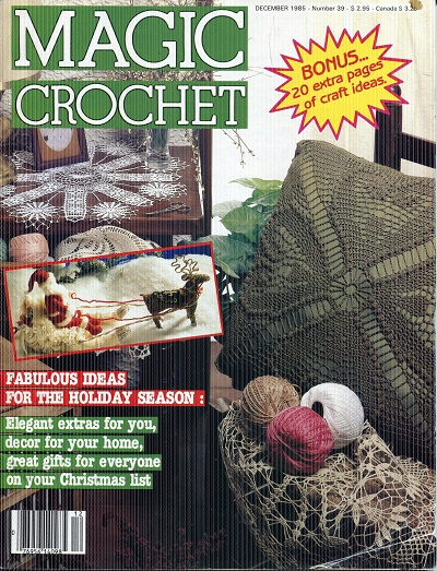 Image for Magic Crochet No. 39  December 1985