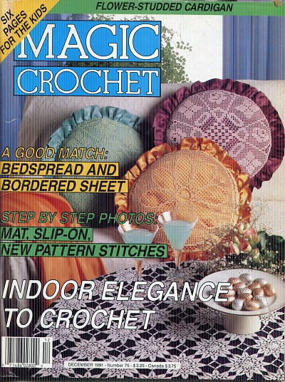Image for Magic Crochet No. 75  December 1991