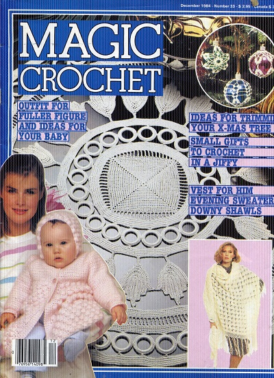 Image for Magic Crochet No. 33  December 1984