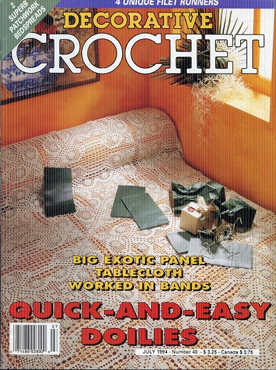 Image for Decorative Crochet No. 40  July 1994