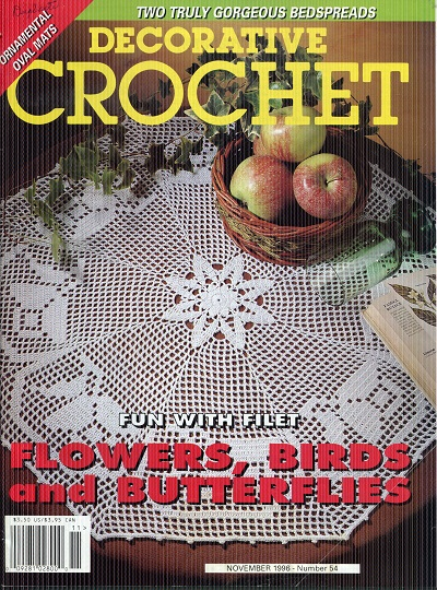 Image for Decorative Crochet No. 54  November 1996
