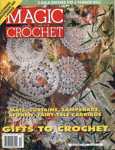 Image for Magic Crochet No. 111  December 1997