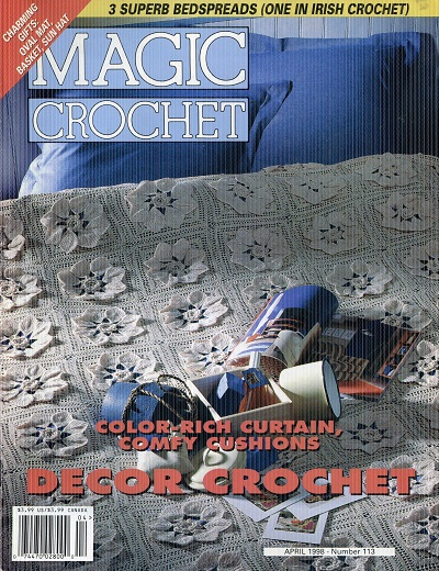 Image for Magic Crochet Number 113  April 1998