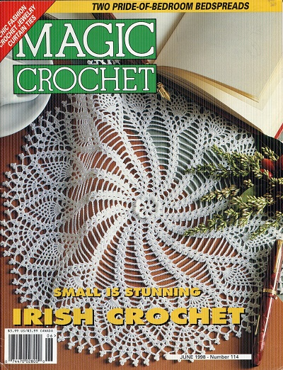 Image for Magic Crochet Number 114  June 1998