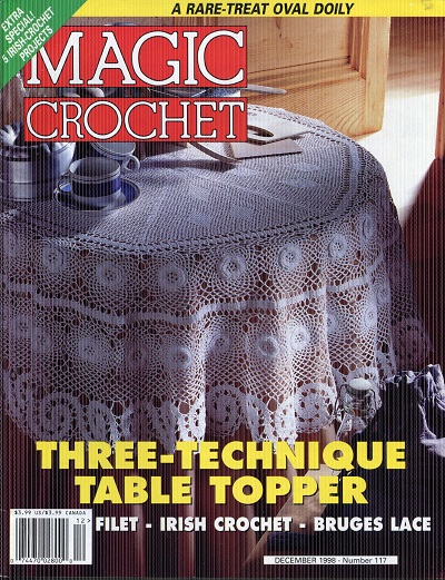Image for Magic Crochet No. 117  Decenber 1998