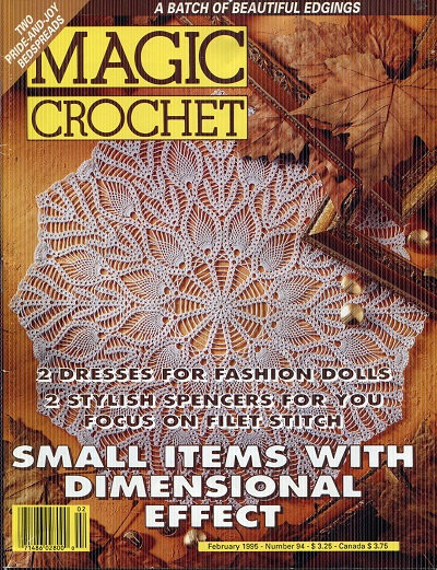 Image for Magic Crochet No. 94  February 1995