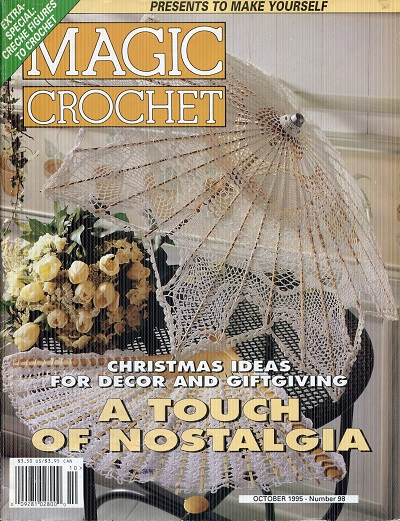 Image for Magic Crochet No.98  October 1995