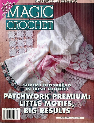 Image for Magic Crochet No. 102  June 1996