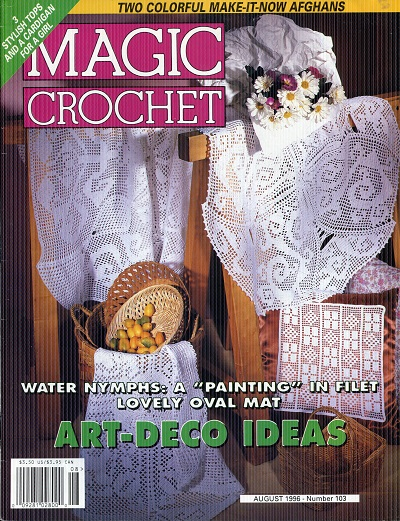 Image for Magic Crochet No. 103  August 1996
