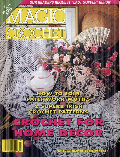 Image for Magic Crochet No. 88  February 1994