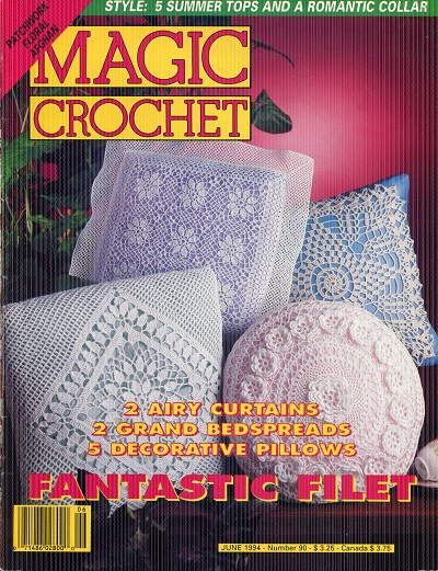 Image for Magic Crochet No. 90  June 1994