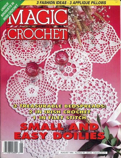 Image for Magic Crochet No. 91  August 1994