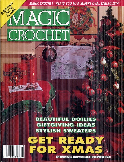 Image for Magic Crochet No. 92  October 1994
