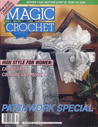 Image for Maic Crochet No. 81  Decemer 1992