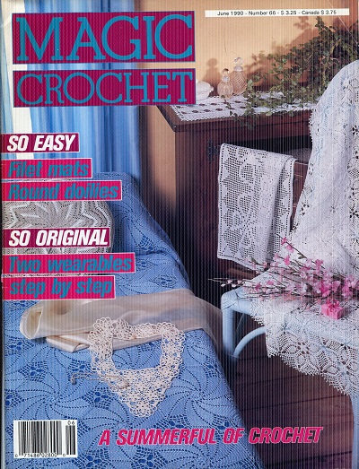 Image for Magic Crochet Number 66  June 1990