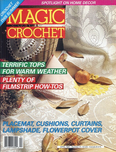 Image for Magic Crochet No. 71  April 1991