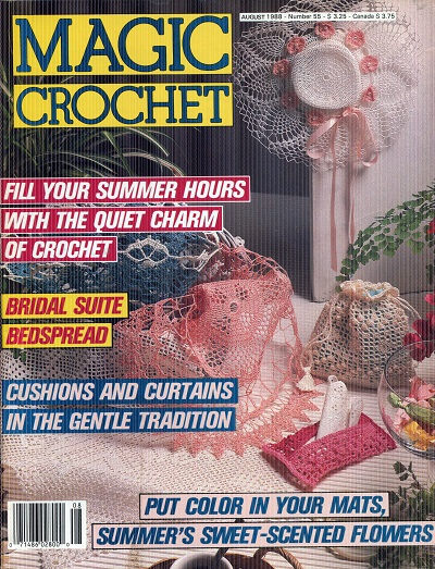 Image for Magic Crochet No. 55  August 1988