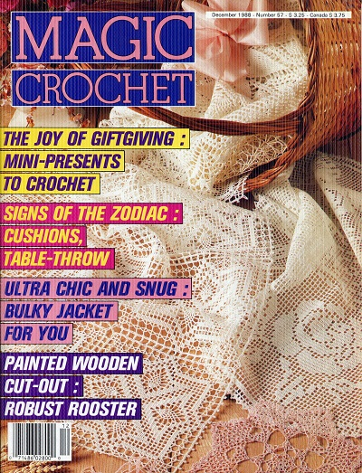 Image for Magic Crochet No. 57  December 1988