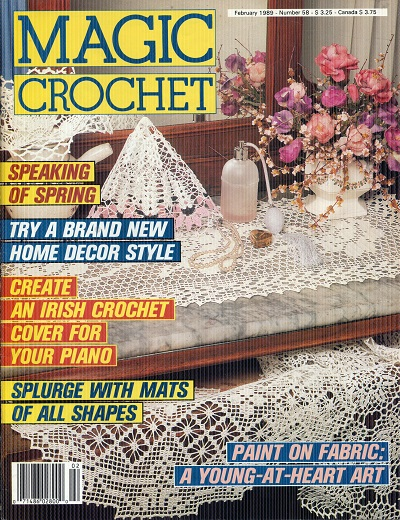 Image for Magic Crochet No. 58 February 1989