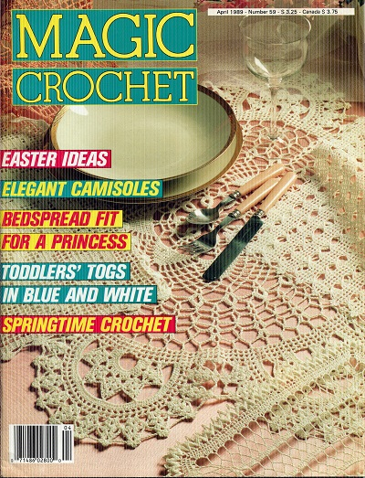 Image for Magic Crochet No. 59 April 1989