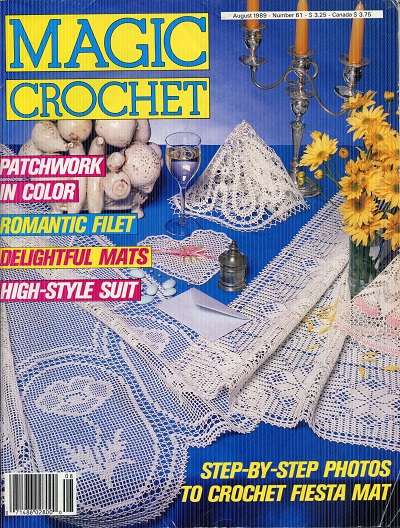 Image for Magic Crochet No. 61  August 1989