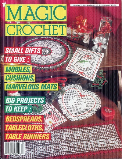 Image for Magic Crochet No. 62  October 1989