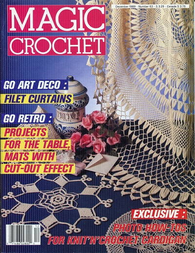 Image for Magic Crochet No. 63  December 1989