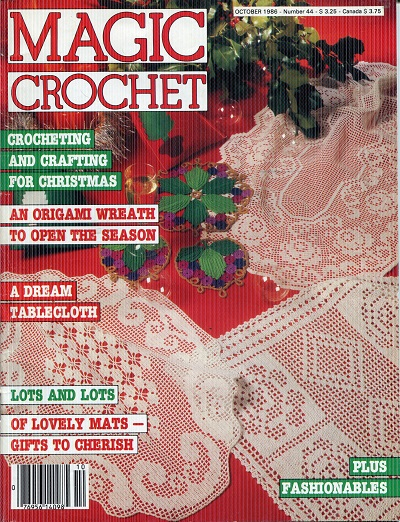 Image for Magic Crochet No. 44  October 1986