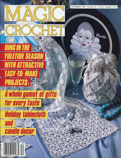 Image for Magic Crochet No. 45  December 1986