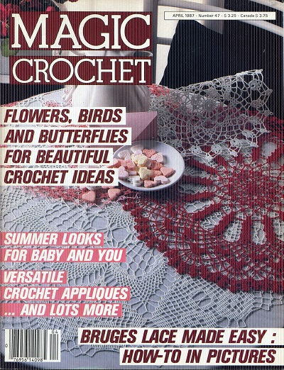 Image for Magic Crochet No. 47  April 1987