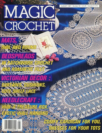 Image for Magic Crochet  No. 49  August 1987