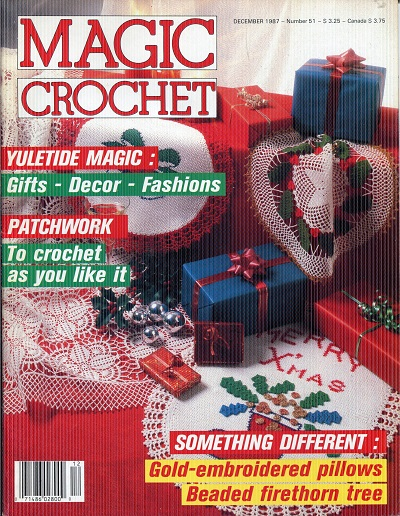 Image for Magic Crochet No. 51  December 1987