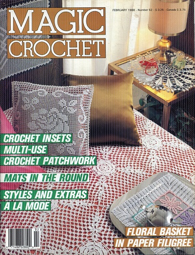 Image for Magic Crochet No. 52  February 1988
