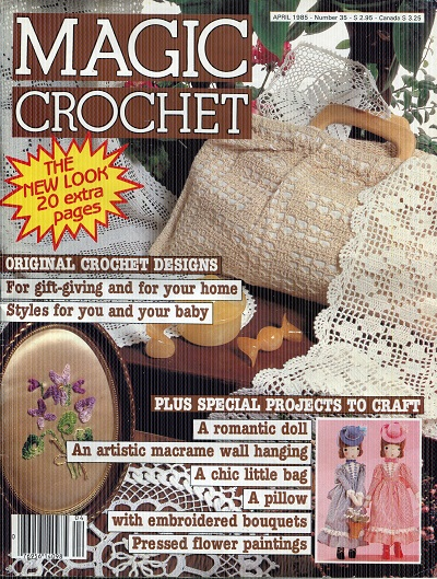 Image for Magic Crochet No. 35  April 1985
