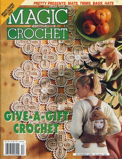 Image for Magic Crochet No. 129  Decenber 2000