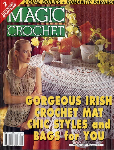 Image for Magic Crochet No. 133  August 2001