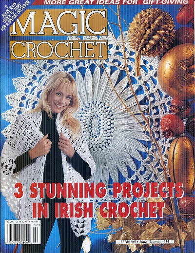 Image for Magic Crochet No. 136  February 2002